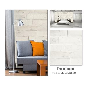 Série Dunham * Béton 8x32