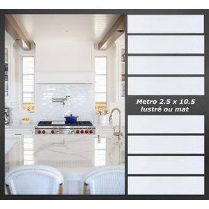 08-Série Metro 2x10 * blanc