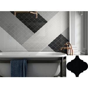 Série Alhambra * 5x5 Noir mat