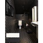 Série Color market • 3x9 Brique noire