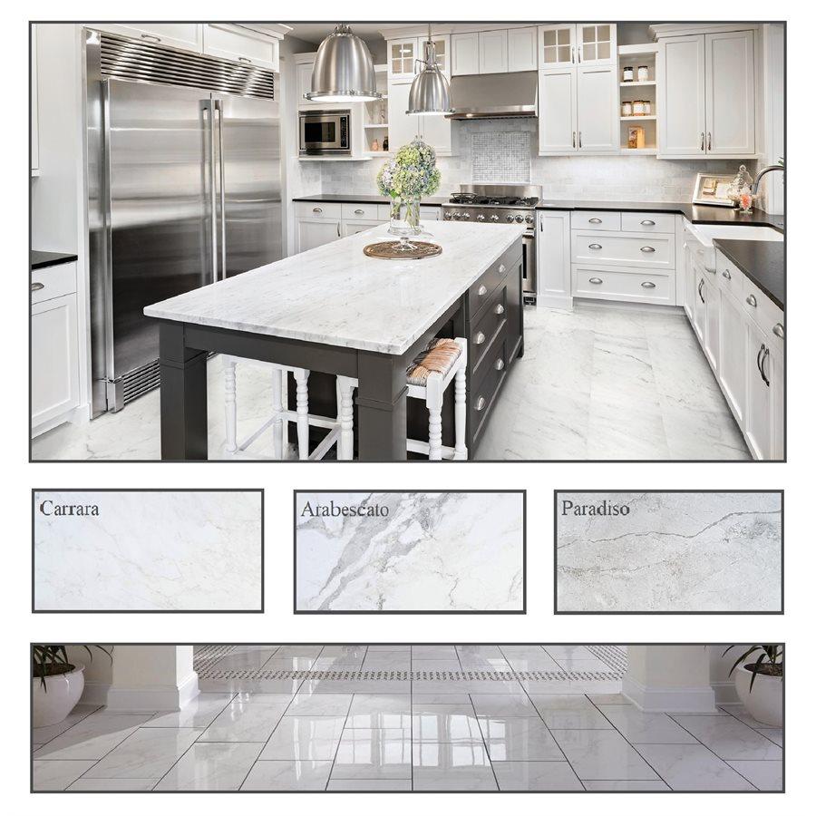 tuiles imitation marbre cuisine serie la marca